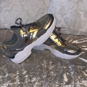 CBG Guess Metallic/Sparkly Sneakers